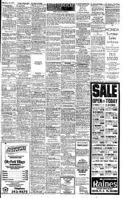 Sunday Gazette-Mail from Charleston, West Virginia on July 16, 1972 · Page 49