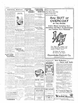 The Daily Courier from Connellsville, Pennsylvania on January 17, 1930 · Page 6