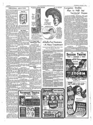 The Daily Courier from Connellsville, Pennsylvania on January 4, 1939 · Page 6