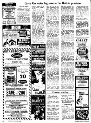 Sunday Gazette-Mail from Charleston, West Virginia on August 27, 1972 · Page 80