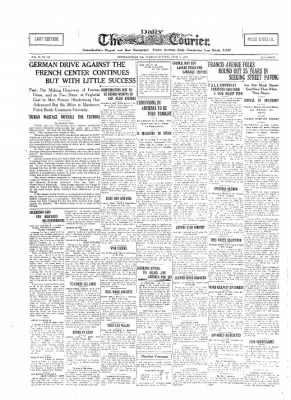 The Daily Courier from Connellsville, Pennsylvania on June 11, 1918 · Page 1