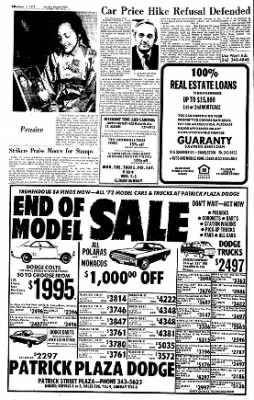 Sunday Gazette-Mail from Charleston, West Virginia on September 3, 1972 · Page 36