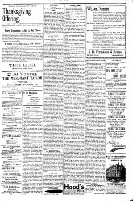 Logansport Pharos-Tribune from Logansport, Indiana on November 26, 1897 · Page 3