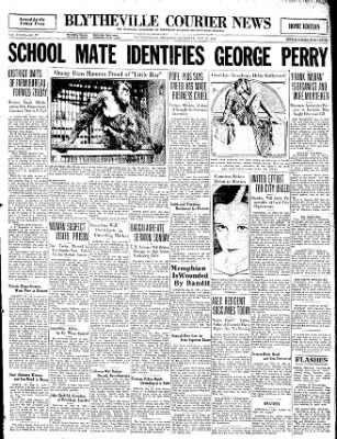 The Courier News from Blytheville, Arkansas on May 23, 1931 · Page 1