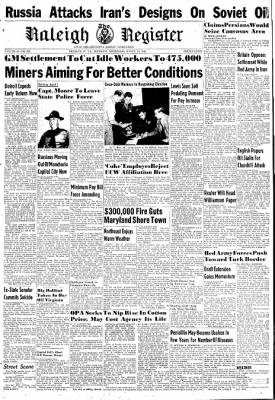 The Raleigh Register from Beckley, West Virginia on March 14, 1946 · Page 1