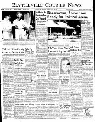 The Courier News from Blytheville, Arkansas on July 28, 1952 · Page 1