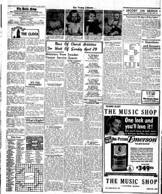 Naugatuck Daily News from Naugatuck, Connecticut on April 28, 1951 · Page 4