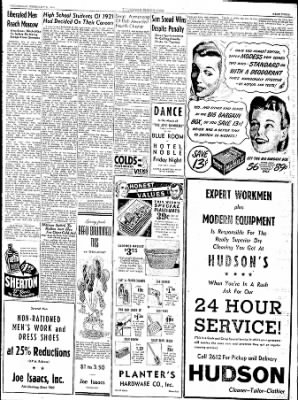 The Courier News from Blytheville, Arkansas on February 21, 1945 · Page 3