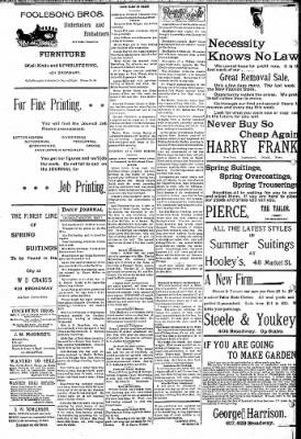 Logansport Pharos-Tribune from Logansport, Indiana on May 2, 1895 · Page 8
