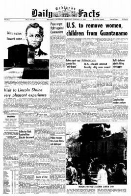 Redlands Daily Facts from Redlands, California on February 12, 1964 · Page 1