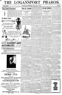 Logansport Pharos-Tribune from Logansport, Indiana on January 25, 1898 · Page 17