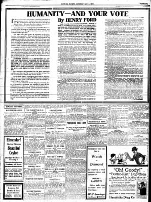 Sterling Standard from Sterling, Illinois on November 4, 1916 · Page 5