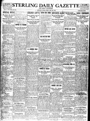 Sterling Standard from Sterling, Illinois on December 22, 1916 · Page 1