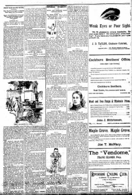 Logansport Pharos-Tribune from Logansport, Indiana on August 9, 1896 · Page 3