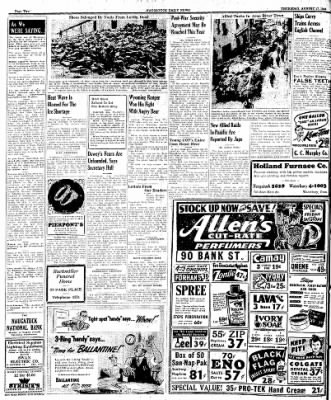 Naugatuck Daily News from Naugatuck, Connecticut on August 17, 1944 · Page 2
