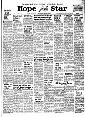 Hope Star from Hope, Arkansas on April 26, 1968 · Page 10