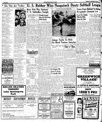Naugatuck Daily News from Naugatuck, Connecticut on August 25, 1944 · Page 6