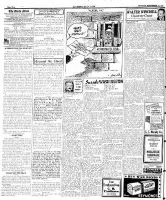 Naugatuck Daily News from Naugatuck, Connecticut on September 19, 1944 · Page 4
