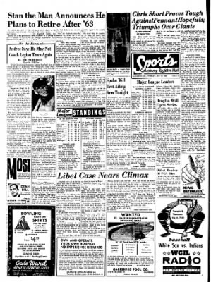 Galesburg Register-Mail from Galesburg, Illinois on August 13, 1963 · Page 12