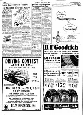 The Courier News from Blytheville, Arkansas on April 7, 1954 · Page 6