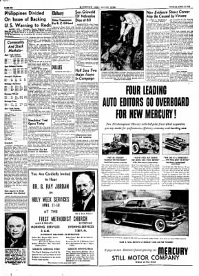 The Courier News from Blytheville, Arkansas on April 12, 1954 · Page 6