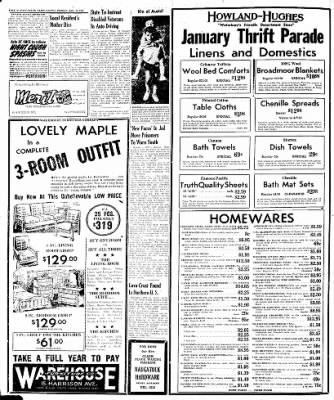 Naugatuck Daily News from Naugatuck, Connecticut on January 31, 1947 · Page 6
