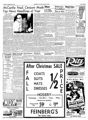 The Courier News from Blytheville, Arkansas on December 28, 1954 · Page 3