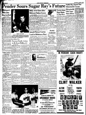 Alton Evening Telegraph from Alton, Illinois on June 11, 1960 · Page 12