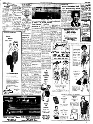Alton Evening Telegraph from Alton, Illinois on June 14, 1960 · Page 3