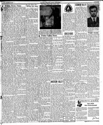 Ukiah Dispatch Democrat from Ukiah, California on March 12, 1948 · Page 5