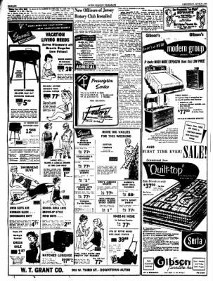 Alton Evening Telegraph from Alton, Illinois on June 29, 1960 · Page 6