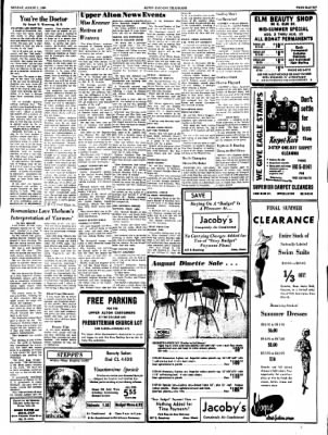 Alton Evening Telegraph from Alton, Illinois on August 1, 1960 · Page 11