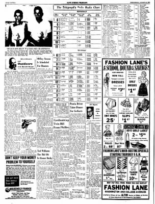 Alton Evening Telegraph from Alton, Illinois on August 10, 1960 · Page 16