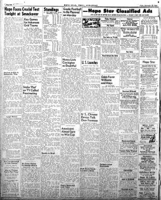 Hope Star from Hope, Arkansas on September 26, 1958 · Page 4