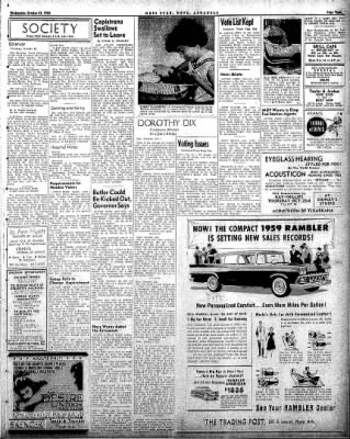 Hope Star from Hope, Arkansas on October 22, 1958 · Page 3