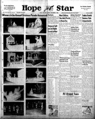 Hope Star from Hope, Arkansas on December 5, 1958 · Page 1