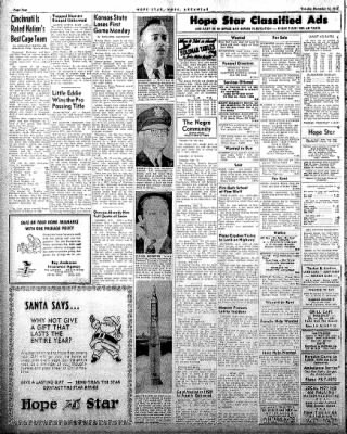 Hope Star from Hope, Arkansas on December 16, 1958 · Page 4