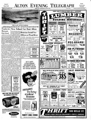 Alton Evening Telegraph from Alton, Illinois on June 26, 1963 · Page 16