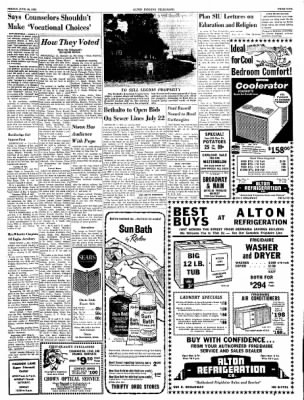 Alton Evening Telegraph from Alton, Illinois on June 28, 1963 · Page 9
