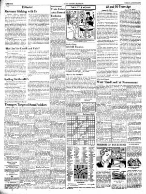 Alton Evening Telegraph from Alton, Illinois on August 13, 1963 · Page 4