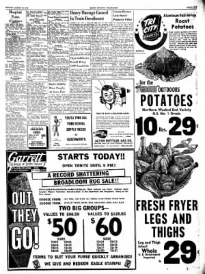 Alton Evening Telegraph from Alton, Illinois on August 19, 1963 · Page 9
