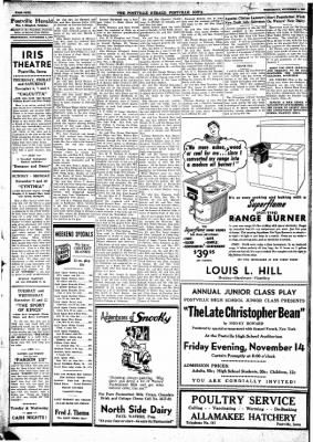 Postville Herald from Postville, Iowa on November 5, 1947 · Page 4