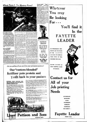 Fayette County Leader from Fayette, Iowa on September 21, 1961 · Page 7