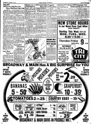 Alton Evening Telegraph from Alton, Illinois on January 12, 1950 · Page 25