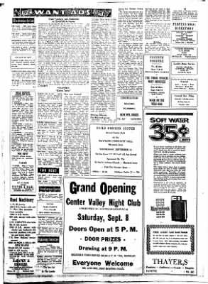 Fayette County Leader from Fayette, Iowa on September 6, 1962 · Page 4