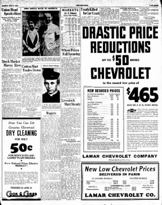 The Paris News from Paris, Texas on July 8, 1934 · Page 7