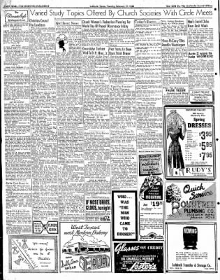 Lubbock Morning Avalanche from Lubbock, Texas on February 17, 1942 · Page 3