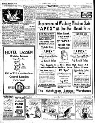 The Hutchinson News from Hutchinson, Kansas on November 15, 1924 · Page 5