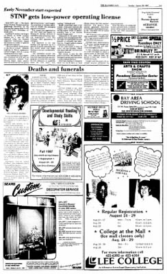 The Baytown Sun from Baytown, Texas on August 23, 1987 · Page 5