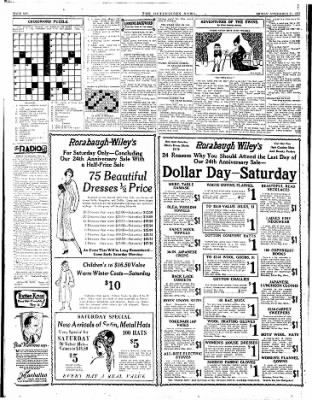 The Hutchinson News from Hutchinson, Kansas on November 21, 1924 · Page 6